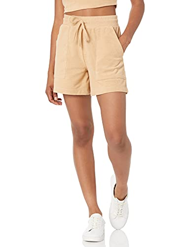 The Drop Women's Sage Pull-On Towel Terry Utility Short