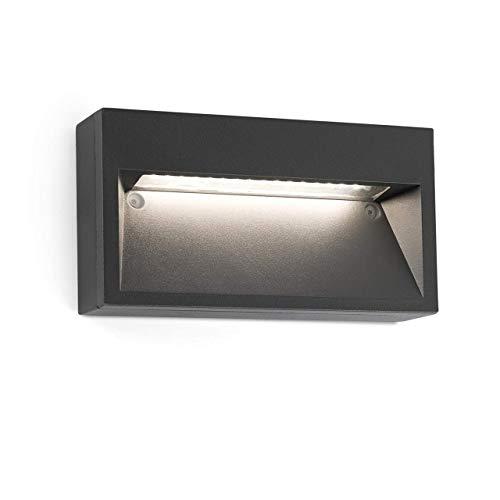FARO BARCELONA 70508 Path LED Lampe Applique Gris foncé