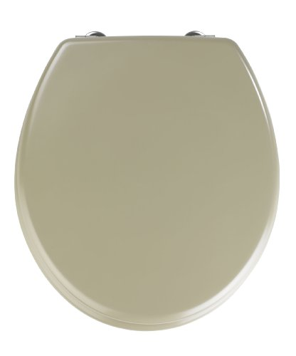 WENKO Tapa de WC Prima Arena beige opaco - adecuado para cisternas,...