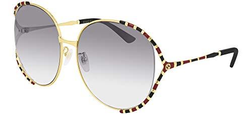 Gucci GG0595S-006-64 Gafas, Multicolor, 64.0 Unisex Adulto