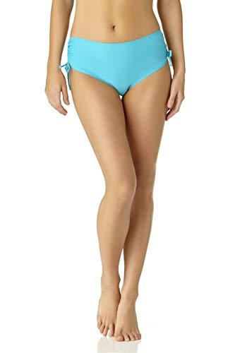 Catalina Women's Standard Side Tie Bikini Swim Bottom Swimsuit, Teal Green, Extra Large
