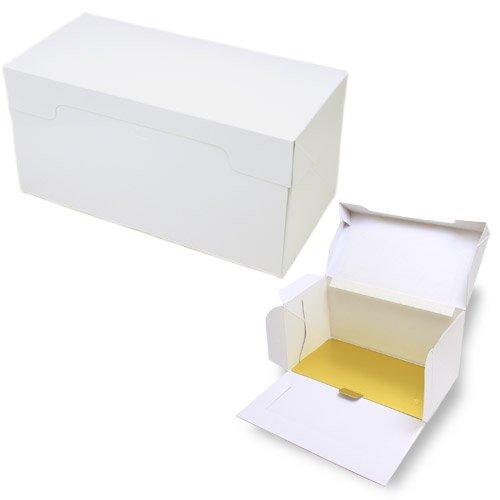 PA21ロールケーキボックス(白無地)金台紙付き 20枚セット