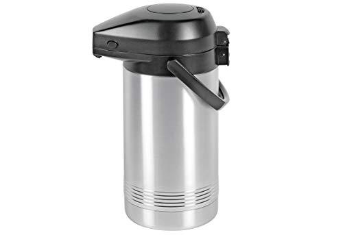 Addis 637201600 President Pomp Pot Vacuüm Kan, roestvrij staal, Zilver, 2 Litre_P