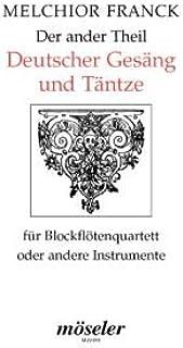La herida alemana Ander Theil + TAENTZE – arreglos para cuarteto de flauta dulce [Notas/partituras] Compositor: Felck Melchior.