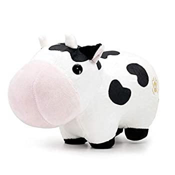 Bellzi Cow Cute Stuffed Animal Plush Toy - Adorable Soft Cow Toy Plushies and Gifts - Perfect Present for Kids Babies Toddlers - Mooi