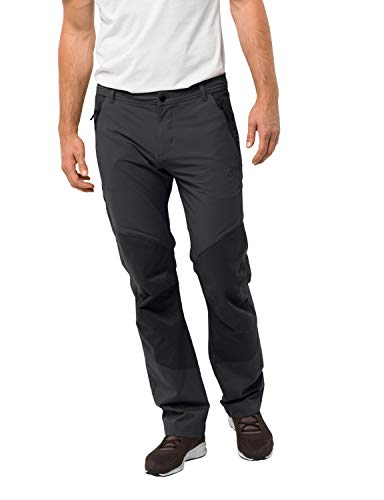 Jack Wolfskin Herren Drake Flex Pants Men Hose, Phantom, 52