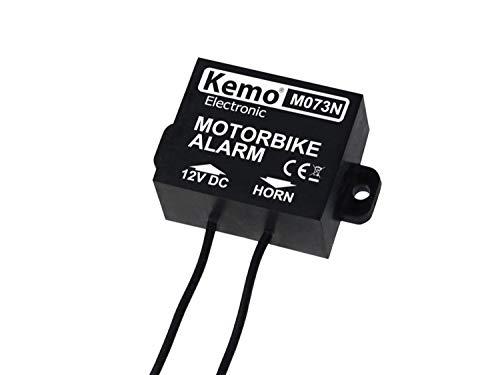 Kemo M073N Motorrad Alarmanlage Baustein 12 V/DC, 24 V/DC