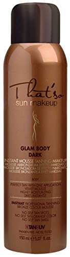 That'so Glam Body Tanning Mousse, Sun Make-Up, Selbstbräuner, (1 x 150 ml)
