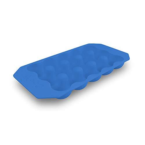 Quailzz Fridge Cup, Wachteleierschale - Farbe: Blue -Eierhalter Kühlschrank - Silikon abwaschbar wiederverwendbar