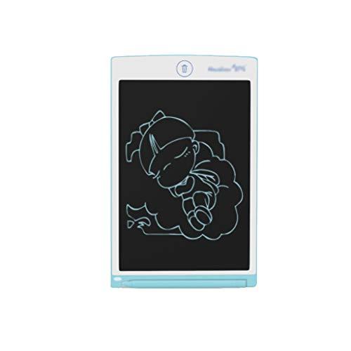 Tablero de graffiti tipo garabato Tablero De Dibujo De Tabla De Dibujo LCD, Tablero Creativo De Graffiti Educación Electrónica Y Juguetes De Aprendizaje tableta de escritura ninos ( Color : Blue )