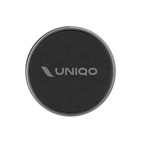UNIQO Supporto circolare per smartphone magnetico da auto, porta cellulare con clip per bocchette d'aria [AMAZON EXCLUSIVE 2020]