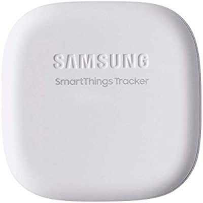 Samsung SmartThings Tracker [SM-V110AZWAATT] Real Time LTE GPS Tracking Device (1 Year Data) - White