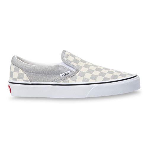 Vans Classic Slip-ON Slip on Damen Silbern - 41 - Slip on