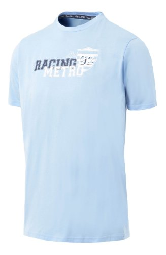 RACING METRO 92 T-Shirt Collection Officielle Kappa - Rugby Top 14 - Taille Adulte Homme M