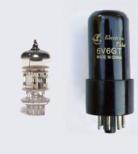 Jellyfish Audio kit de válvula de 6V6& 12AX7PARA amplificadores FENDER Champ