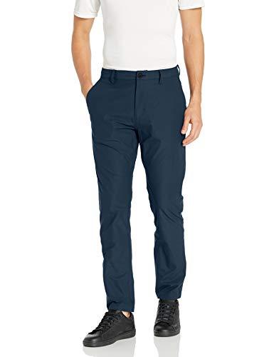 Amazon-Marke: Peak Velocity Reisehose pants, navy, 34W x 32L