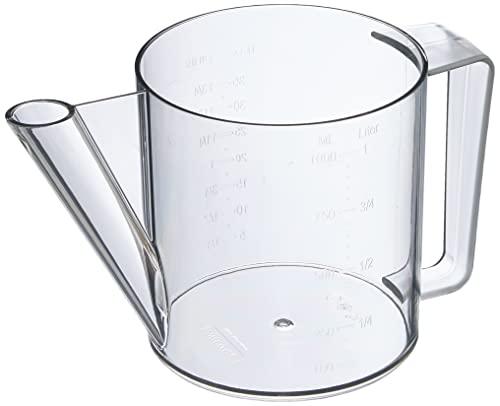 Westmark Fett-Trenn-Kanne, 5 Jahre Garantie, Füllvolumen: 1 Liter, Kunststoff, Transparent, 30712260
