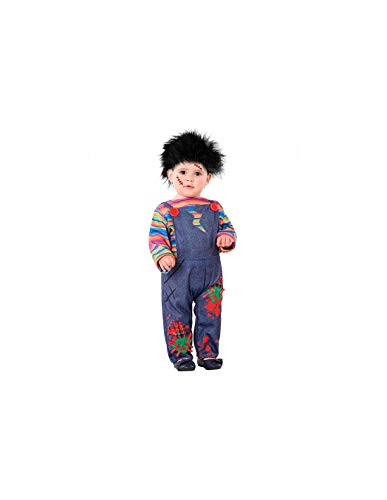 DISBACANAL Disfraz Muñeco diabólico bebé - -, 36 Meses