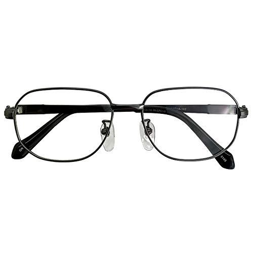 SHOWA ブルーライトカット 中近両用メガネ チタンプロファンド (メンズセット) 全額返金保証 ブルーライト カット 老眼鏡 おしゃれ メンズ 男性 メガネ 眼鏡 パソコン PC メガネ リーディンググラス (瞳孔間距離:66mm〜68mm, 近くを見
