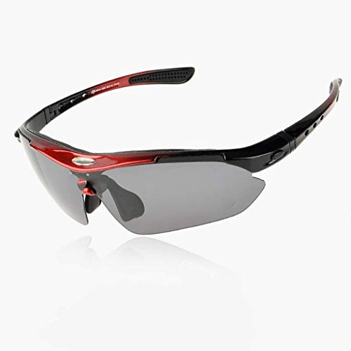 ZXTYJ Protección Hombres Mujeres Ciclismo Running polarizadas Gafas de Sol Deportivas de conducción Gafas de Sol Gafas