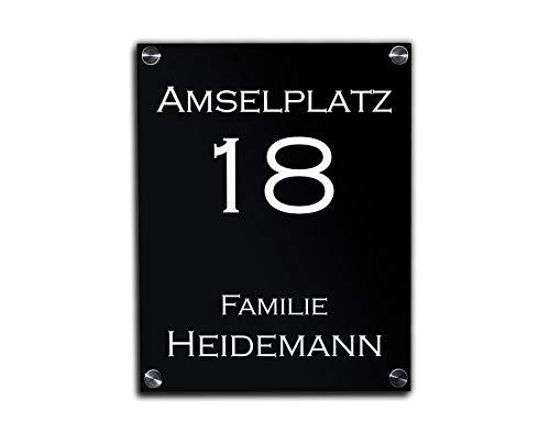 Namensschild für Haus