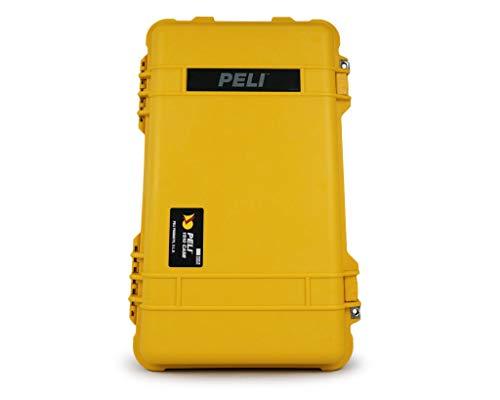 PELI 1510 valise de transport résistante aux chocs, IP67 étanche à l'eau et à la poussière, capacité de 27L, fabriquée en Allemagne, sans mousse, jaune