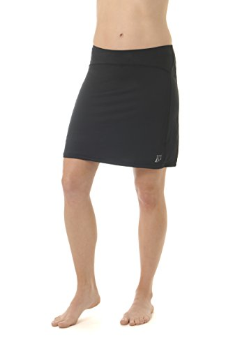 Skirt Sports Women's Happy Girl Skirt, Black, Medium