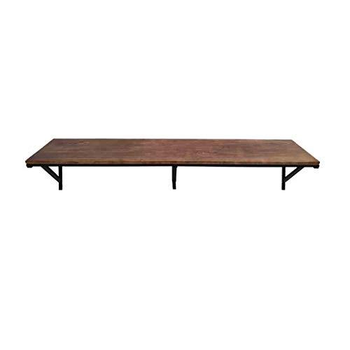 Lapdesks XUERUI Praktische massief hout muur opknoping tafel industriële wind klaptafel bureau hoge tafel duurzaam