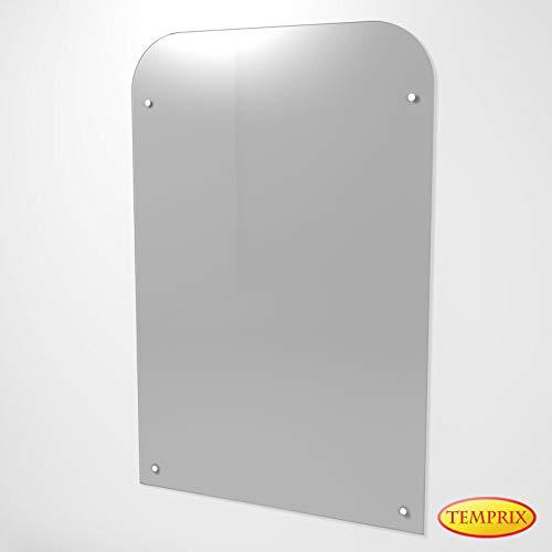 Wandschutz für Kamin & Ofen | Funkenschutz aus Glas | Glas wand als Hitzeschutz & Möbelschutz | Sandviken