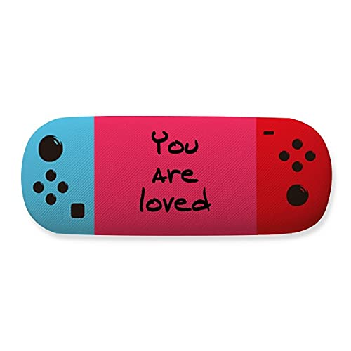 You Are Loved - Funda para gafas de almacenamiento, diseño de frase inspiradora