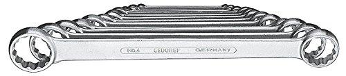 Gedore dubbele ringsleutel. 12-tlg 6-32 mm, 1 Stuk
