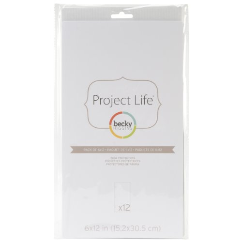 Project Life 380016 Page Protector-6 x 12 (12 Pieces)