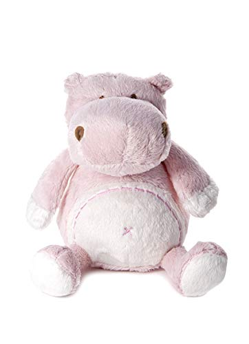 Mousehouse Gifts Pupazzo Davvero soffice a Forma di Piccolo Ippopotamo Rosa Gioco per Lettino per Bambina Appena Nata