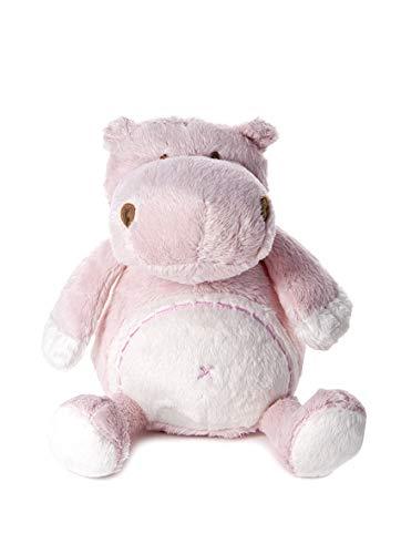 Mousehouse Gifts Bebe Cadeau - Peluche Petit Hippopotame Rose Clair pour Nouveau-né Petite Fille