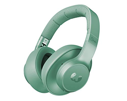 Auriculares Fresh 'n Rebel Clam ANC Misty Munt | Auriculares Bluetooth para colocar sobre las orejas con reducción activa del ruido