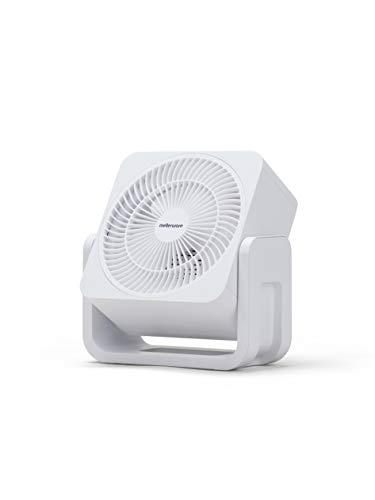 Mellerware Ventilador Sobremesa Air Force 30 White. Color Blanco. Diseño Compacto. 3 Aspas. 35W Potencia (Blanco)