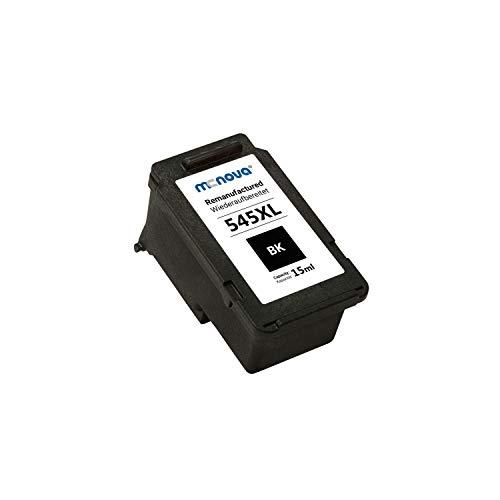 MC NOVA Remanufactured 545XL - Cartucho de tinta negra para Canon PG-545, Pixma MX495, MG2550, TS3150, TS3151, TR4550, TR4551, MG2555s, IP2800, IP2850, IP2855, TS205, TS304 y TS305 TS305 TS305 .