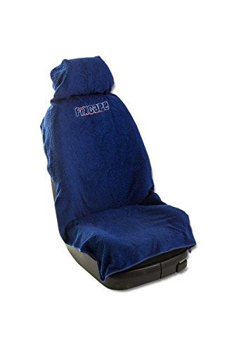 Fixcape, praktische autostoelhoezen, universeel als sprei, van katoen, autostoelovertrek, beschermhoezen voor de auto, stoelhoezen, autostoel, werkplaatshoes voorstoelen