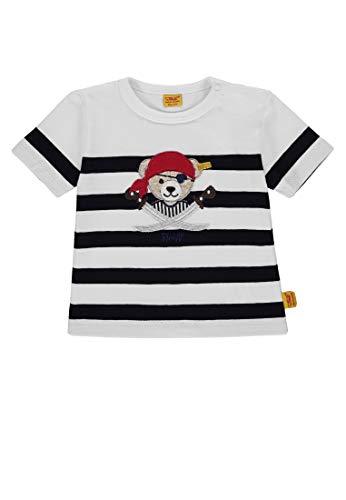Steiff Steiff Baby-Jungen 1/4 Arm T-Shirt, Blau (Marine|Blue 3032), 56