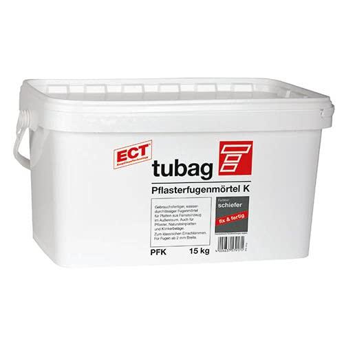 Quick-mix Tubag Pflasterfugenmörtel PFK 15 kg - schiefer