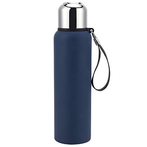 Taza de vacío Copa de vacío 800 ML Botella de agua portátil con aislamiento de taza de frasco de vacío para actividades al aire libre Bebida diaria