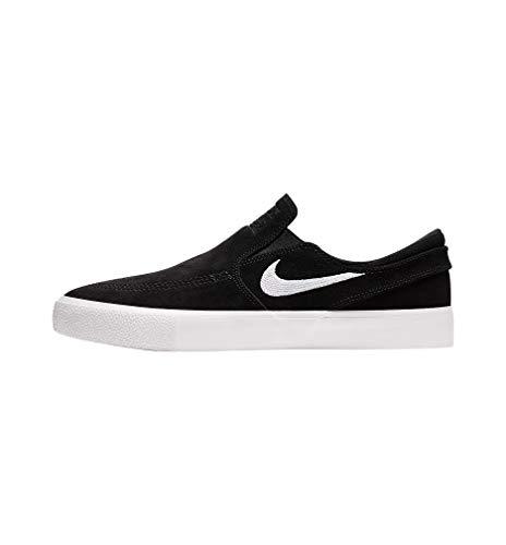 Nike Mens Sb Zoom Janoski Slip Rm Black/White-White At8899 002 - Size 12