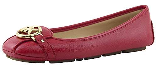 Femmes Michael Michael Kors Chaussures Loafer Couleur Bright Red Saffiano Taille