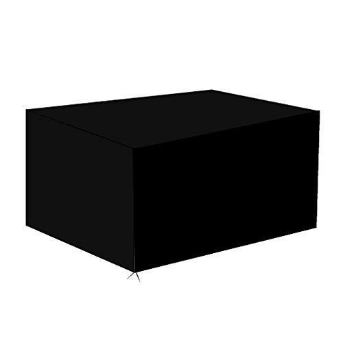 Funda para Muebles de Jardín,Copertura Impermeable para Mesas Rectangular,Cubierta de Exterior Funda Protectora Muebles Mesas Sillas Sofás Exterior 420D Oxford 213 x 132 x 74CM)...