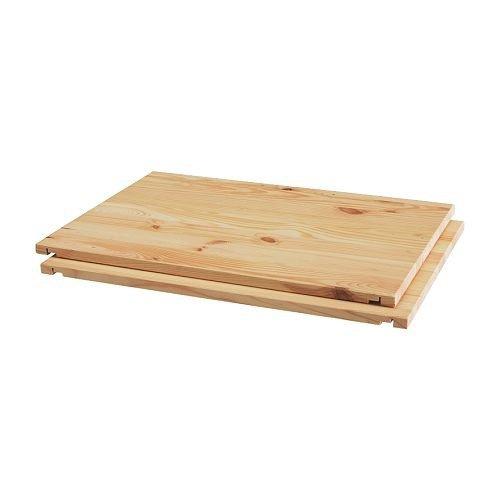 IKEA TROFAST Regalboden aus Kiefer; 2 Stück