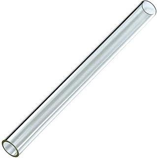 "Hiland  SGT-GLASS Quartz Glass Tube Replacement fits HLDS01-GTHG, HLDS01-GTSS Heater, 49.5' Tall 4"" diameter"
