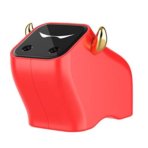 TPTPMAY YaLuoUK - Humidificador de aire para coche, silencioso, vaporizador de aceite esencial, difusor de aromaterapia, apagado automático para 2021 Zodiaco chino buey año hogar oficina coche