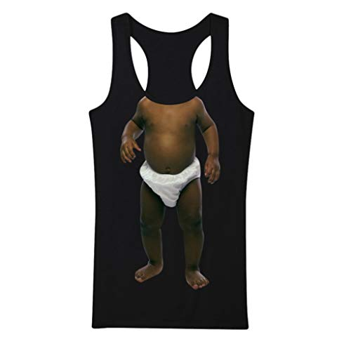 Yowablo Männer Frauen Paar Tank Top Tanktop Tankshirt Ärmellos Bodybuilding Shirt Unterhemd T-Shirt Muskelshirt Achselshirt Ärmellose Training Gym Sport Fitness (XL,2Schwarz)
