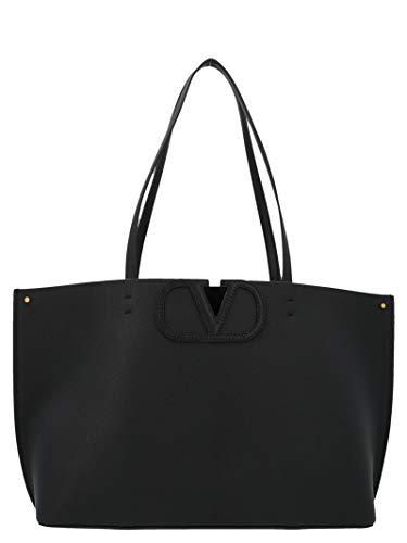 Luxury Fashion | Valentino Garavani Dames TW2B0F95FQJ0NO Zwart Leer Handtassen | Lente-zomer 20