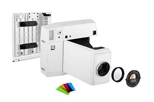 Lomography Lomo'Instant Square Glass Combo White - Sofortbildkamera